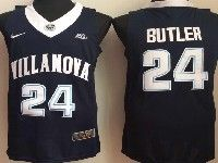 Mens Ncaa Nba Villanova Wildcats #24 Butler Navy Blue Jersey