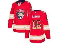 Mens Nhl Florida Panthers #16 Aleksander Barkov Red Drift Fashion Home Adidas Jersey