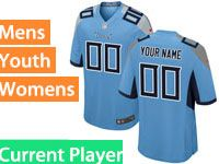 Mens Women Youth Nfl Tennessee Titans Light Blue Current Player Vapor Untouchable Limited Jersey