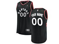 Mens Nba Toronto Raptors Custom Made 2018-2019 Black Nike Swingman Jersey