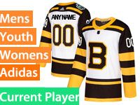 Mens Women Youth Nhl Boston Bruins 2019 Winter Classic White Current Player Jersey