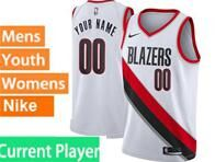 Mens Womens Youth Nba Portland Trail Blazers Current Player White Association Edition Nike Swingman Jersey
