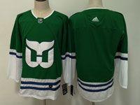 Mens Nhl Hartford Whalers Blank Green Adidas Jersey