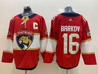 Mens Nhl Florida Panthers #16 Aleksander Barkov Red Adidas Jersey