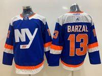 Mens Women Youth Nhl New York Islanders #13 Mathew Barzal Blue Adidas Jersey