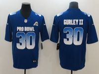 Mens Los Angeles Rams #30 Todd Gurley Ii Blue 2019 Pro Bowl Nike Royal Vapor Untouchable Limited Jersey