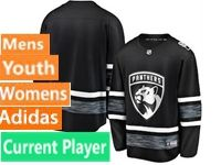 Mens Women Youth Adidas Florida Panthers Black Current Player 2019 All Star Jersey