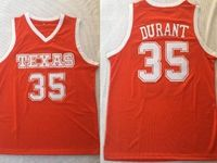 Mens Ncaa Nba Texas Longhorns #35 Durant Orange Jersey