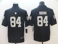 Mens Women Youth Nfl Las Vegas Raiders #84 Antonio Brown Black Vapor Untouchable Limited Player Jersey