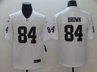 Mens Women Youth Nfl Las Vegas Raiders #84 Antonio Brown White Vapor Untouchable Limited Player Jersey