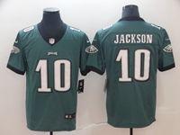 Mens Women Youth Nfl Philadelphia Eagles #10 Desean Jackson Green Vapor Untouchable Limited Jersey