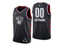 Mens Nba Custom Made 2019 All Star Black Jordan Jersey