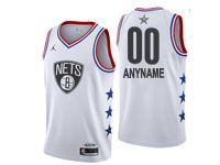Mens Nba Custom Made 2019 All Star White Jordan Jersey