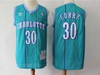 Mens Nba Charlotte Hornets Custom Made Teal Hardwood Classics Swingman Jersey