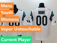 Mens Women Youth Nfl Carolina Panthers White Current Player Vapor Untouchable Limited Jersey