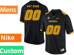 Mens Nacc Nfl Missouri Tigers Cusotm Made Black Vapor Untouchable Limited Football Jersey