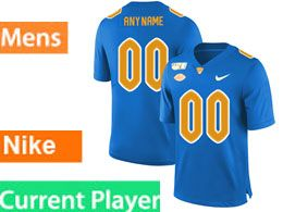 Mens Nacc Nfl Pittsburgh Panthers Current Player Blue Vapor Untouchable Limited Football Jersey