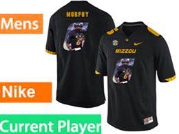 Mens Nacc Nfl Missouri Tigers Current Player Black Printed Fashion Nike Vapor Untouchable Limited Jersey