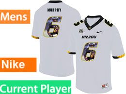 Mens Nacc Nfl Missouri Tigers Current Player White Printed Fashion Nike Vapor Untouchable Limited Jersey
