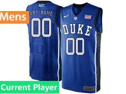 Mens Ncaa Nba Duke Blue Devils Current Player Blue Nike Acc Elite Jersey