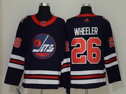 Mens Nhl Winnipeg Jets #26 Blake Wheeler Black Adidas Player Jersey