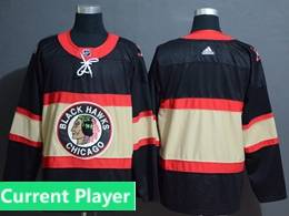 Mens Nhl Chicago Blackhawks Current Player Black Inverted Legend Adidas Jersey