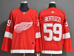 Mens Nhl Detroit Red Wings #59 Tyler Bertuzzi Red Adidas Jersey