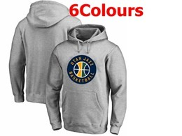Mens Nba Utah Jazz Blank Hoodie Jersey With Pocket 6 Colors