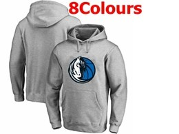 Mens Nba Dallas Mavericks Blank Hoodie Jersey With Pocket 8 Colors