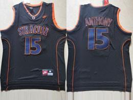 Mens Ncaa Nba Syracuse #15 Anthony Black Nike Jersey