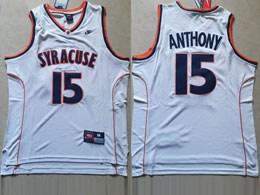 Mens Ncaa Nba Syracuse #15 Anthony White Nike Jersey