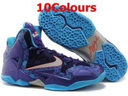 Mens Nike Lebron 11 P.s Basketball Shoes 10 Colours