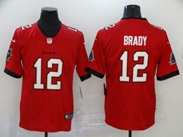 Mens Women Youth Nfl Tampa Bay Buccaneers #12 Tom Brady 2020 Red Vapor Untouchable Limited Jerseys