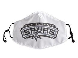 Mens Nba San Antonio Spurs White Face Mask Protection