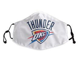 Mens Nba Oklahoma City Thunder White Face Mask Protection