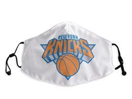 Mens Nba New York Knicks White Face Mask Protection
