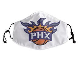 Mens Nba Phoenix Suns White Face Mask Protection
