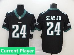 Mens Women Youth Nfl Philadelphia Eagles 2020 Black Current Player Vapor Untouchable Limited Jersey