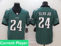 Mens Women Youth Nfl Philadelphia Eagles 2020 Green Current Player Vapor Untouchable Limited Jersey
