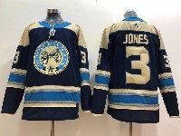 Mens Nhl Columbus Blue Jackets #3 Seth Jones Alternate Premier Navy Blue Adidas Jersey
