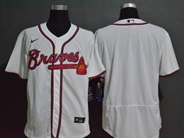 Mens Mlb Atlanta Braves White Blank Flex Base Nike Jersey