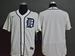 Mens Mlb Detroit Tigers White Blank Cool Base Nike Jersey