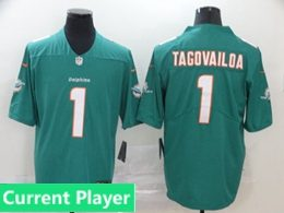 Mens Women Youth Nfl Miami Dolphins 2020 Green Current Player Vapor Untouchable Limited Jersey