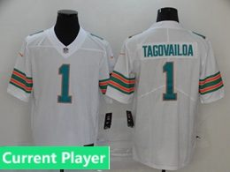Mens Women Youth Nfl Miami Dolphins 2020 White Current Player Color Rush Vapor Untouchable Limited Jersey