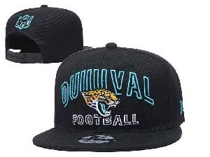Mens Nfl Jacksonville Jaguars Black Team Patch City Name Snapback Adjustable Flat Hats
