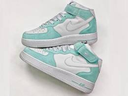 Mens Nike Air Max Force 1 High Basketball Shoes One Color