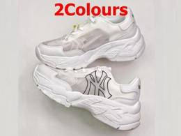 Mens And Women Mlb New York Yankees Blg Ball 2020 New Running Shoes 2 Colors