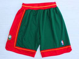 Mens Nba Seattle Supersonics Green 1995-96 Mitchell&ness Shorts