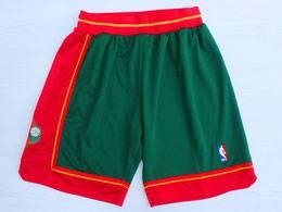 Mens Nba Seattle Supersonics Green 1995-96 Mitchell&ness Shorts