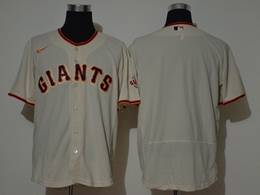 Mens Mlb San Francisco Giants Blank Cream Flex Base Nike Jersey